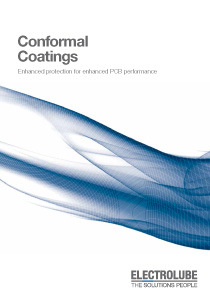 Conformal Coatings Brochure