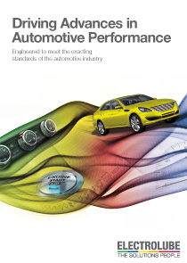 Electrolube Automotive Applications brochure (PDF)